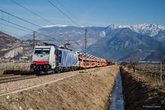 E186 441 LOKOMOTION in service a RTC - Volano (Giovanni Grasso 71) Tags: e186 441 lokomotion service rtc volano nikon d610 giovanni grasso brennero verona