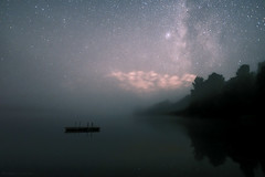 A Foggy Lakeview with a Galaxy (Kojaniemi) Tags: milkyway fog foggy mist misty nightscape nightphotography night starry starrynight milkywayscape galaxy galactic lakeview moonset lake astrography astrophoto astrophotography longexposure nightsky starrysky kimmoojaniemi kojaniemi cloud skyporn tranquil nature space spacescape singleshot milkywayphotography milkywayphoto mirrorcalm reflections reflection nightonearth
