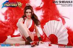 PHICEN PL2019-134 Mai Shiranui 不知火舞 SNK King of Fighters - 06 (Lord Dragon 龍王爺) Tags: 16scale 12inscale onesixthscale actionfigure doll hot toys phicen tbleague seamless