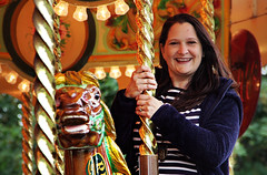 Canon EOS 60D  - Lisa on the carousel at York (Cropped) (Gareth Wonfor (TempusVolat)) Tags: lisa beautiful wife smile smiling brunette pretty beautifulwife prettywife fair fairground horse merrygoround roundabout attract attraction bright colours pan panning horsehead tempusvolat mrmorodo gareth tempus volat motion fairgroundattractions carousel canon eos 60d geotagged garethwonfor mr morodo wonfor york portfolio best favourite stock shutterstock imagekind fav favorite getty stockimage smilingwife ruby mywife beautifulsmile stripes