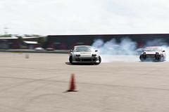 Tandem Run (Find The Apex) Tags: nolamotorsportspark nodrft drifting drift cars automotive automotivephotography nikon d800 nikond800 nissan 240sx nissan240sx s13 tandemdrift tandem tandemdrifting tandembattle