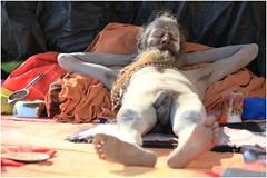 India Travel Photography: Aarti Ceremony, Nada Sadhus & burning Ghats at Varanasi 2019 Benares.011 by Hans Hendriksen (Travel Photography - Reisfotografie) Tags: india travel photography uttar pradesh north noord crowd reisfotografie reisfoto varanasi cremation ghat ghats benares banāras kashi kasi 2019 bad baden bath snan bathing people planet naked naakt naga sadhu saddhu baba nackt hindu hindus hindoe hindoes ganga gangus ganges river rivier march holy heilig sacred ceremony ceremonie religion religie nude dahues babas pelgrims pilgrimage pilgrims bedevaart menigte hindúes sagrado río aarti fire vuurceremonie burning manikarni manikarnika dead reincarnation reincarnatie afterlife