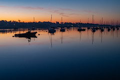 The Blue Hour (hutchyp) Tags: bluehour sunrise sky water boats river hamble hamblequay hampshire sony alpha a58