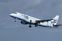 G-FBJB take off. (aitch tee) Tags: flybe gfbjb takeoff aircraft airliner cwlegff maesawyrcaerdydd walesuk aircraftspotting