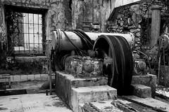 Pump (Ivan Gualtieri) Tags: miniera dossena mine pump pompa aria air tunnel galleria valle bremnana vally italy italia