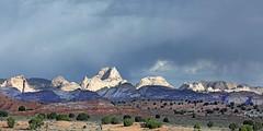 Domes of Navajo Sandstone / Capitol Reef (Ron Wolf) Tags: capitolreefnationalpark earthscience geology geomorphology jurassic mesozoic nationalpark navajosandstone desert landscape monocline nature utah