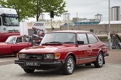 Erskine Classic Cars 2017 (<p&p>photo) Tags: red saab90 saab 90 5th erskine classic car show erskineclassiccarshow 5therskineclassiccarshow classicshow classicvehicleshow charity vehicle intubraehead arena intubraeheadarena intu braehead renfrewshire scotland uk july2017 july 2017 classiccar classiccarshow auto autos autoshow carshow worldcars