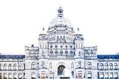 Provincial Legislature Building , Victoria, BC (gks18) Tags: nik lightroom canon victoriabc britishcolumbia capitolbuilding
