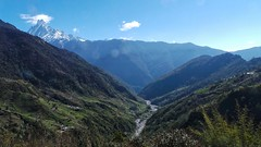 20150317_091834- on1 (douglasjarvis995) Tags: camera galaxy samsung landscape view walk nepal holiday travel stream river mountain green hills
