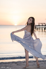DSC_7567 (Robin Huang 35) Tags: menumbok 沙巴 馬來西亞 my 謝立琪 kiki sabah malaysia 迪加島 生還島 island 海灘 沙灘 海邊 beach 裸紗 遊拍 人像 portrait lady girl nikon d850