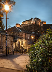 The Vennel after sunset (Edu_RM) Tags: castle edinburgh uk alleyway architecture atmospheric attraction beautiful british building capital city cloudy destination dusk europe evening famous fortification fortified fortress hill historic iconic lamp lamps landmark light mood night northern old overcast rock scotland scottish sights sightseeing stairs steps street streetlight tourism tourist town travel vennel victorian view