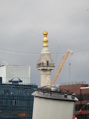 Monument to the Great Fire of London (jane_sanders) Tags: london monumenttothegreatfireoflondon themonument monument hmsbelfast northernshell northernandshell