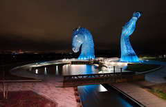 Worked Angles (captures.in.time) Tags: scotland urban city photography culture kelpies kelpie canal scottishcanals britishwaterways andyscott night nightphotography landscape landscapephotography cityscape falkirk grangemouth urbanphotography longexposure canon 1740 lseries visitscotland thisisengineering steel structure sculpture lights lit horse equine waterhorse water le ngm ngc travel