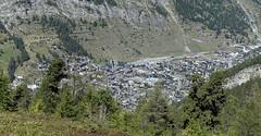 D19999.  Zermatt from the Gornergratbahn. (Ron Fisher) Tags: schweiz suisse svizzera switzerland kantonwallis valais cantonvallese europa europe zermatt sony sonyrx100iii sonyrx100m3 compactcamera