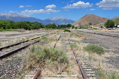 Once a railroad town… (Moffat Road) Tags: tennesseepassroute unionpacific up mothballed railbanked formerriogrande royalgorgeroute colorado railroad co yard salida