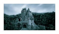 --- Enchanted --- (~Scimo~) Tags: castle burg eltz germany deutschland monochrome rx10 medieval eifel mosel landscape landschaft sony zeiss wald forest himmel sky mittelalter teiltonung scimo