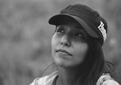 Sara (lebre.jaime) Tags: portrait sara baseballcap hasselblad 500cm sonnar cf40150 analogic film film120 120 mf middleformat pb pretobranco noiretblanc blackwhite bw kodak ektar100 epson v600 affinity affinityphoto