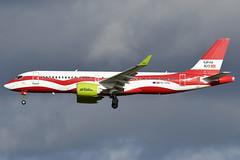 AIR BALTIC YL-CSL A220-300 EGKK 07/02/2019 (SimonBaker185) Tags: