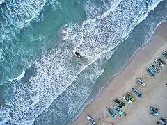 Off to work (Chamikajperera) Tags: boat trinco trincomalee beach wave sri lanka ceylon boats travel landscape aerial dji mavic pro