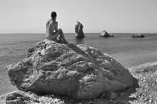 Sueño de verano en blanco y negro