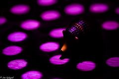 Something is sniffing in the shadows (Jan Vykypel) Tags: shadow light toy purple macro harsh sony alpha a7ii voigtlander apo lanthar 110mm macromondays harshlight