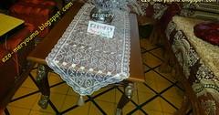 من قماش الستائر اخيطي اروغ مفرش طاولة في 5 دقائق تحفى غير مكلف (ezo-handmade) Tags: اشغال يدوية الطرز و الخياطة خياطة مفارش الطاولة تركية sewing