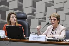 CRA - Comissão de Agricultura e Reforma Agrária (Senado Federal) Tags: audiênciapública cra mapa senadorasorayathronickepslms ministraterezacristina brasília df brasil bra