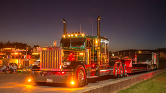 Peterbilt 379 (NoVa Truck & Transport Photos) Tags: peterbilt 379 million miler reinsfelder inc pittsburgh pa lowboy truck big rig 18 wheeler 2017 large car mag southern classic ta lexington va