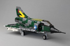 Mirage by Peter Blackert (Lasse Deleuran) Tags: mirage lego airplane