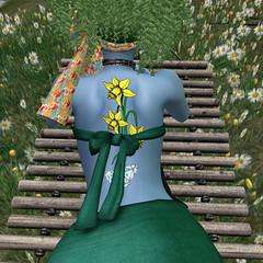 3_8_19 Springtime Diamond (Justine Flirty) Tags: artisanna tattoo fantasy flowers