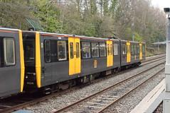TWM 4024 @ South Gosforth Metro station (ianjpoole) Tags: tyne wear metro class 994 metrocar 4024 working service from monkseaton pelaw