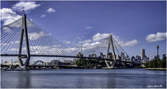 Sydney Harbour's Other Bridge. (John - TOXTETH L8) Tags: anzac australiannewzealandarmycorps sydney nsw australia
