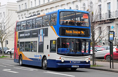 VX54 NNK. (curly42) Tags: stagecoach18200 dennistrident2 bus transport alexanderalx400 cheltenhamracesbuses2019