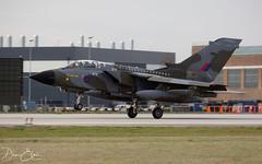 One last touch and go... (Dan Elms Photography) Tags: tornado panavia panaviatornado raf royalairforce fighter bomber gr4 danelms danelmsphotography wwwdanelmsphotouk farewell