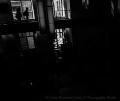 follow (Luther Roseman Dease, II) Tags: light darkness people follow behind silhouette silhouettes walking women absoluteblackandwhite