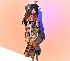 ^Camouflage^ (Victorya Dynasty) Tags: spring march woman shop maitreya moon love adv shoes jacket girls dog pyppy baby wonderful beautiful xoxo sky
