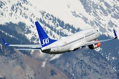 LN-RRB (toptag) Tags: boeing737783 lnrrb inn lowi innsbruck aviation sas mountains tirol austria