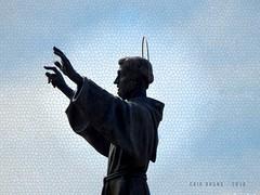 São Francisco (bycaiobruno) Tags: igreja faith statue ligt sun sky saofrancisco
