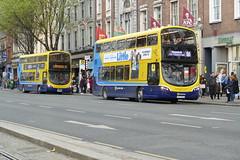 SG 471 Westmoreland Street 05/04/19 (Csalem's Lot) Tags: westmorelandstreet sg471 66 experimental dublin dublinbus bus b5tl volvo wrightsgemini3 sg