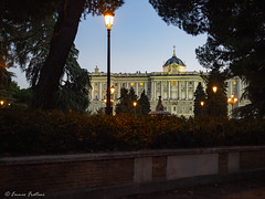 Palacio Real - Madrid (Ennio Fratini) Tags: españa europa madrid omdem1 olympus architecturephotography blue historicalplace lighting luminositymasks mirrorless palacio streetlight travel spain es