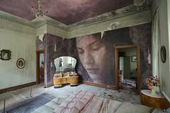 Her room installation, Burnham Beeches (Joe Lewit) Tags: variosonnart281635 burnhambeeches sherbrooke victoria art installation rone empire bedroom dresser