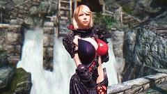 Deathskin #3 (abrarmcfly) Tags: skyrim tesv real vision enb tera armor deathskin sexy