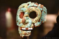 Turquoise Mosaic Mask (AD 1400-1521) (Bri_J) Tags: britishmuseum london uk museum d7500 nikon turquoise mosaic mask mixtecaztec historymuseum