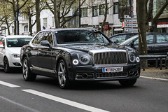 Austria (Vienna) - Bentley Mulsanne Speed 2016 (PrincepsLS) Tags: austria austrian license plate w vienna germany berlin spotting bentley mulsanne speed 2016