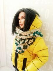 Diana's yellow&black look (ArtCat80) Tags: barbie barbiecollector dianaprince wonder mattel dc doll