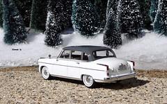 1955 Borgward Hanza 2400 Pullman (JCarnutz) Tags: 143scale neoscalemodels diecast resin 1955 borgward hanza