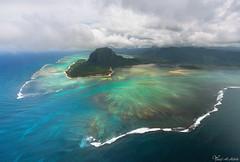 Underwater Waterfall - Mauritius (Yousef Al-Habshi) Tags: mauritius underwater waterfall sea nikon d850 helicopter aerial uae yousef al habshi