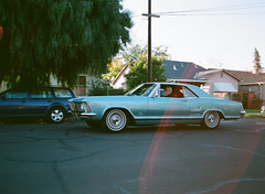 Santa Clara (bior) Tags: santaclara car classiccar ektar25 pentax645nii 6x45cm 645 kodakektar25 expiredfilm mediumformat 120 pentax645 damagedfilm