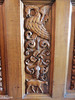 Door panel detail with Griffin