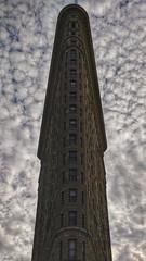 Flatiron (Knuckles245) Tags: mobile photography flatiron newyork new york building nyc manhattan architect oneplus5t oneplus 5t mobilephotography clouds sky